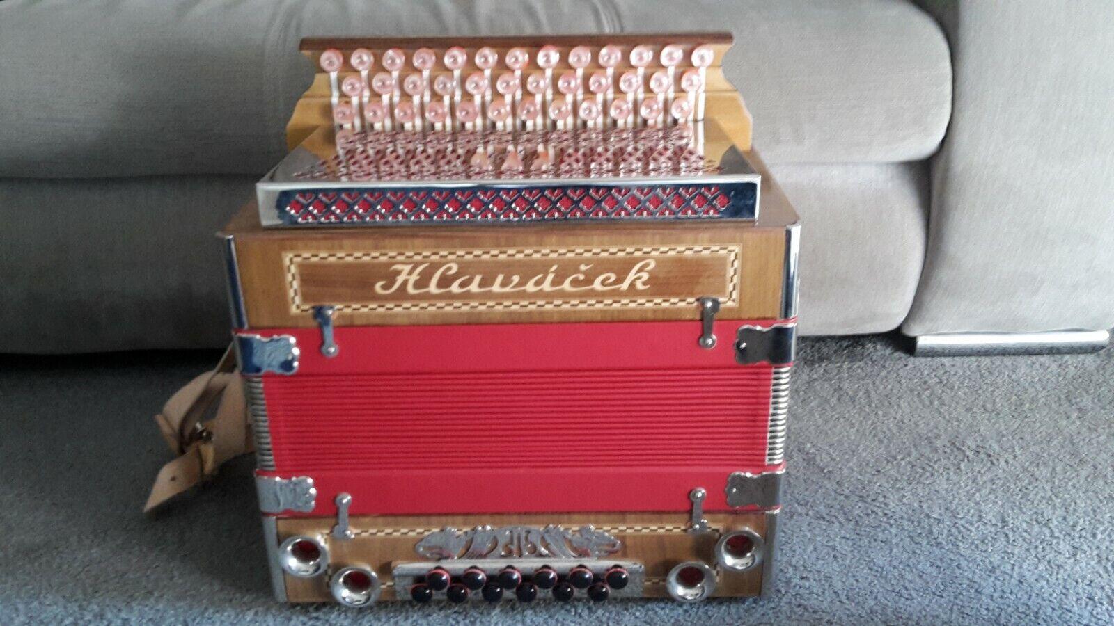 Steirische Harmonika Hlavacek G C F Neuwertig