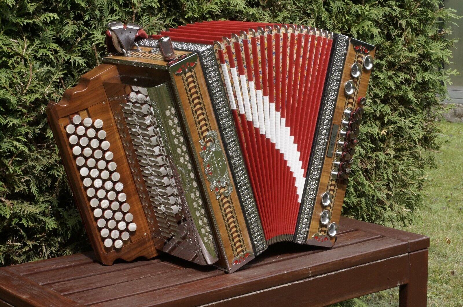 Steirische Harmonika , ORA, B-Es-As-Des , X-Bass, 2 HT