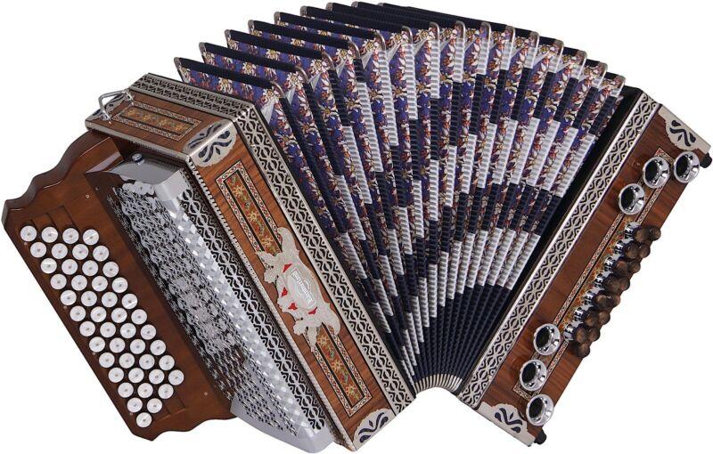 Steirische Harmonika Kärntnerland Edelholz Edition - oder Mieten für mtl. 99€