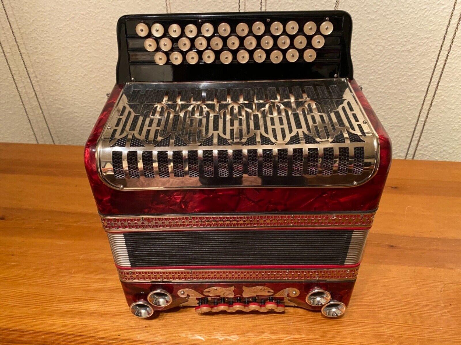 Harmonika, Tasteninstrumente, Steirische Harmonika