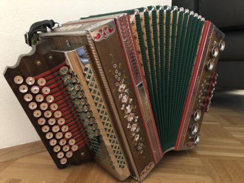 Steirische Harmonika Kärntnerland 3-reihig B/ES/AS
