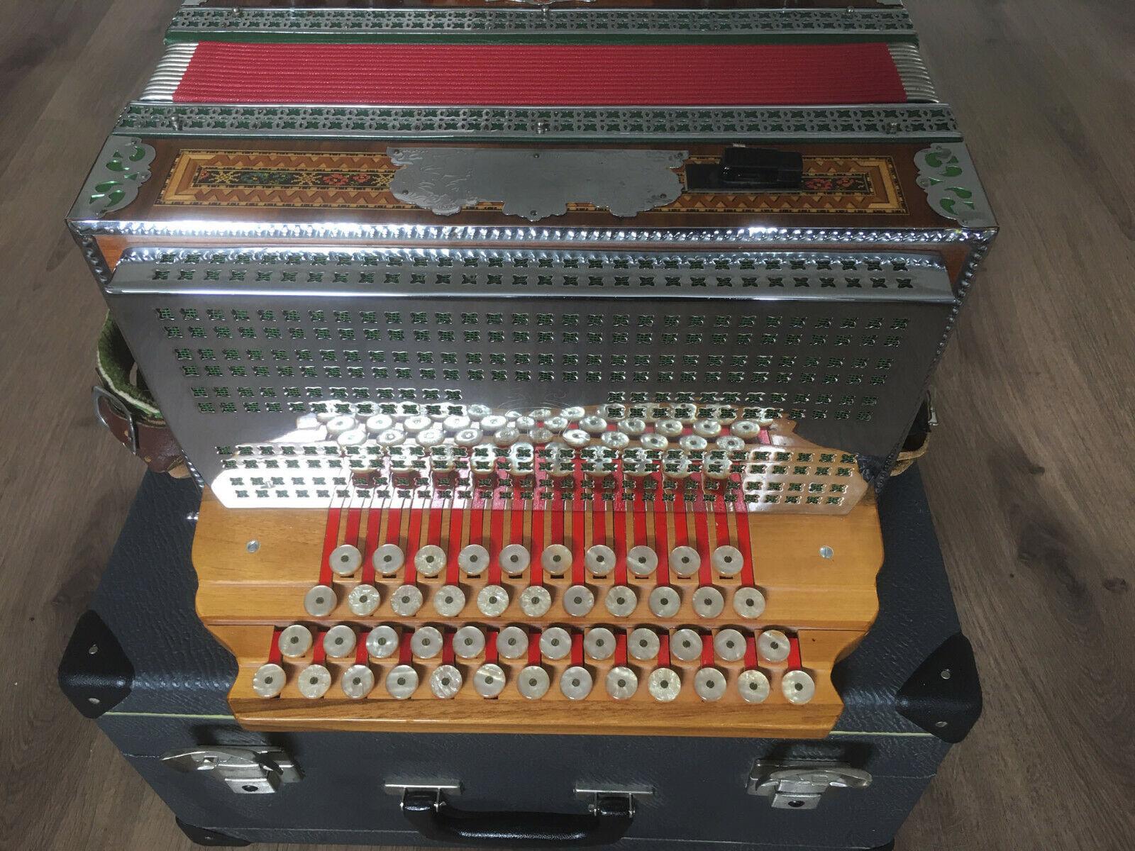 Steirische Harmonika Solton / Akkordeon / Handorgel mit Koffer ...