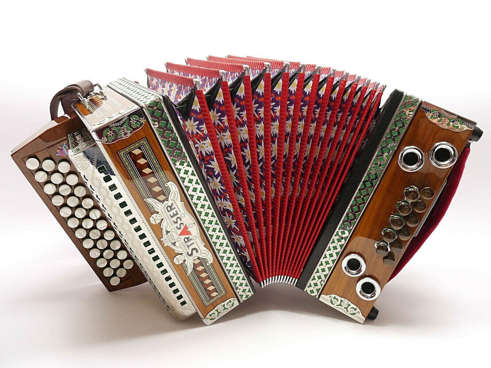 Steirische Harmonika , Strasser, G-C-F, aus 2019