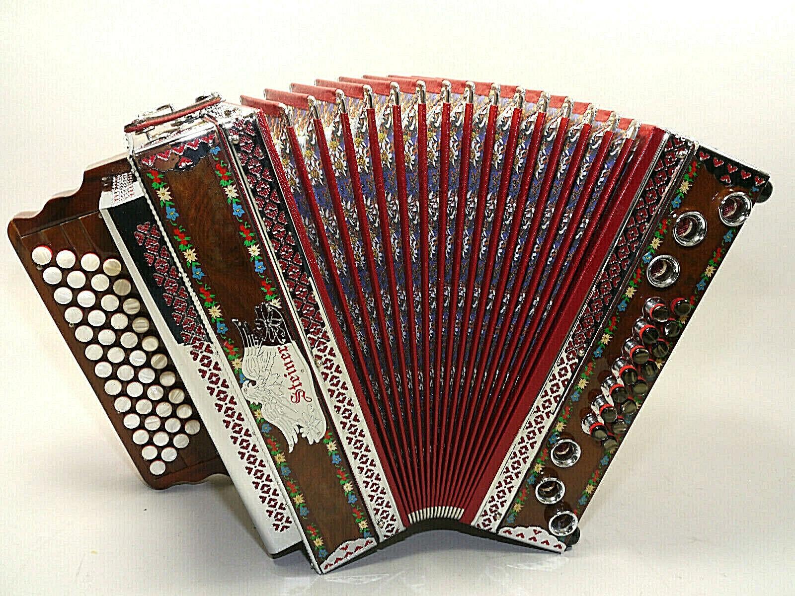 Steirische Harmonika , Steiner, F-B-Es-As