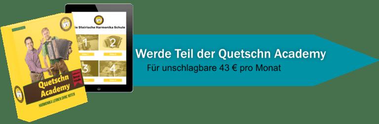 Quetschn Academy Angebotspfeil