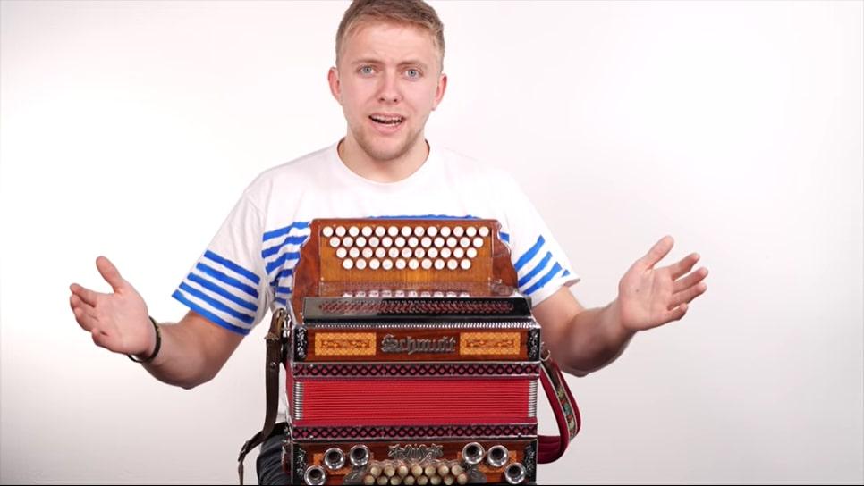 Steirische Harmonika lernen Stefan stellt Quetschn Academy vor
